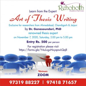 art of thesis writing