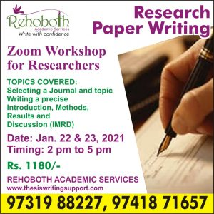 Research paper workshop